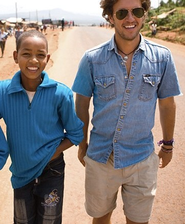 Tom Shoes founder and humanitarian Blake Mycoskie