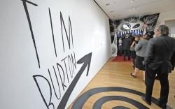 Tim Burton at the Museum of Modern Art