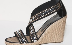 An Italian made espadrille for Fall 2010 by Assous