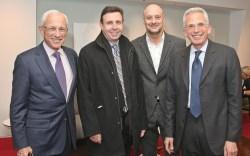 From left Jim Tarica Jack Minuk Jim Gabriel & Larry Tarica