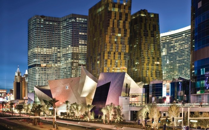 The Crystals shopping area at CityCenter