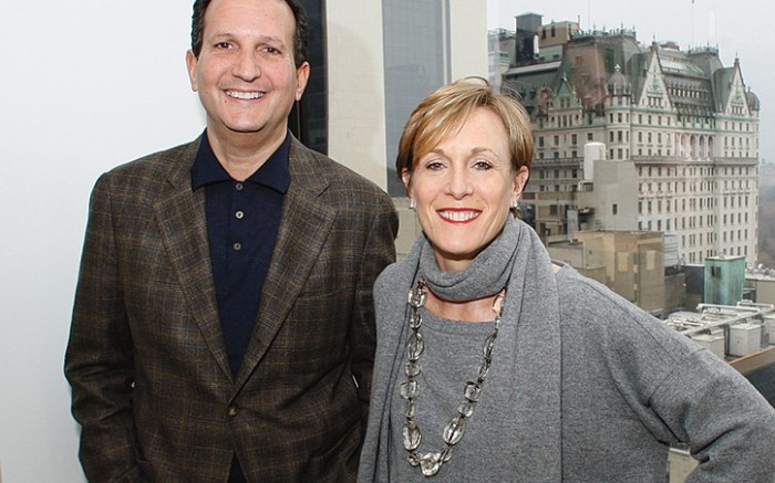 Marc Fisher and Susan Itzkowitz photographed for