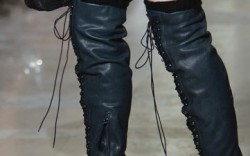 Jill Stuart&#8217s lace-up over-the-knee boots with covered heels