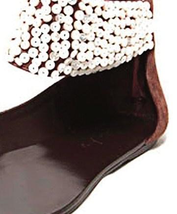 A sandal from the Elizabeth & James line
