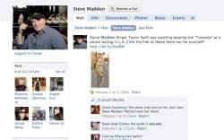 Steve Madden&#8217s Facebook page