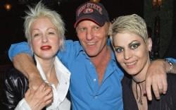 Cyndi Lauper Steve Madden and Joan Jett in 2002
