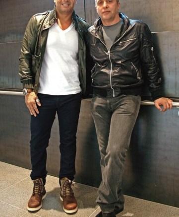 Tarek Hassan and his brother Talal Hassan