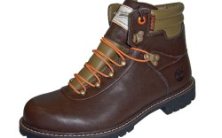 Two-tone hiker with padded collar by Timberland