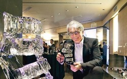 Giuseppe Zanotti bowed his first store in Boston this month and was on hand in mid-March to show off the boutique at the Copley Place Mall