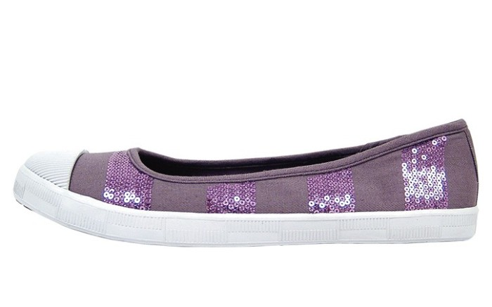 R2 by Report&#8217s sequined canvas skimmer