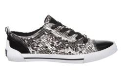 Kathy Van Zeeland&#8217s embossed snakeskin sneaker