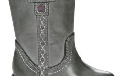 Buster Browns distressed Western-inspired boot