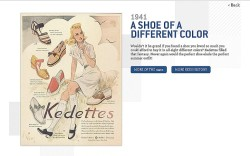 Keds is catering to history buffs with a new digital marketing strategy At the center of it is Theoriginalsneakercom a website where the brand recalls its own storied past