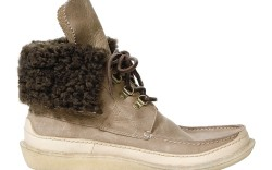 Two-tone look with speed lacing by J Shoes