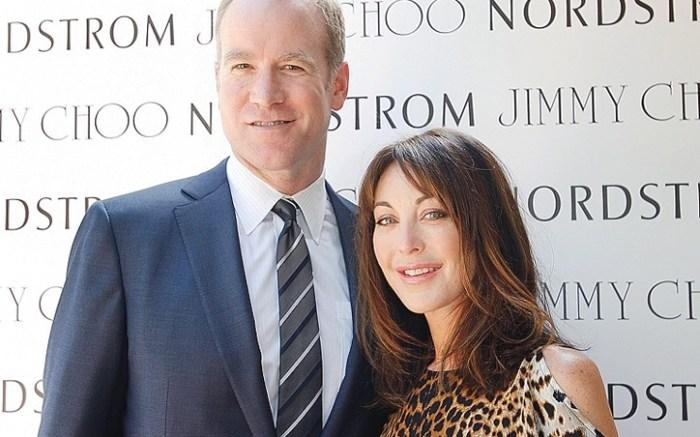 Pete Nordstrom with Jimmy Choos Tamara Mellon