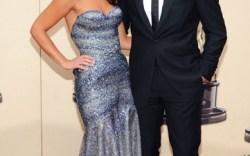 Sam Worthington and Natalie Mark arrive at the 82nd Annual Academy Awards