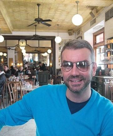 Diego Dolcini at Pastis in New York