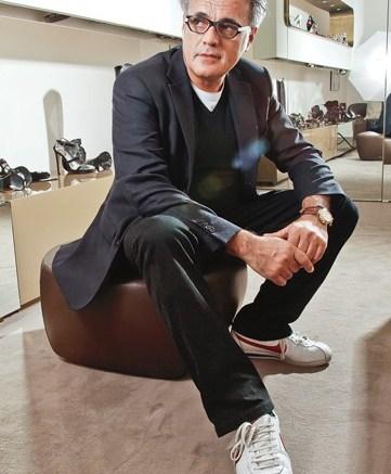 Giuseppe ZanottiGiuseppe Zanotti photographed for FN in his Milan showroom