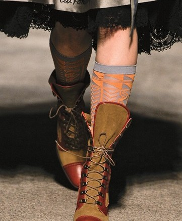 Vivienne Westwood&#8217s brogue-inspired lace-up boots