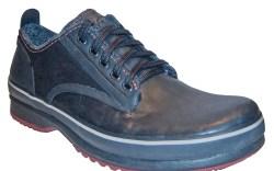Sorels rubber shoe with contrast-color outsole
