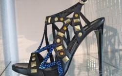 Baldinini&#8217s mixed metal sandal