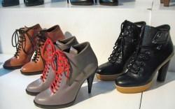 Michel Vivien&#8217s leather boots with crepe soles