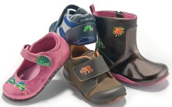 Four shoes from The World of Eric Carle from Stride Rite