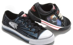 Two &#8220Star Wars&#8221 sneakers from Stride Rite