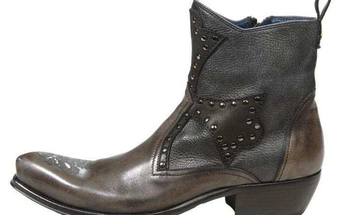 Mark Nason&#8217s studded boot with back tab