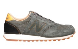 Mixed-material running shoe by New Balance