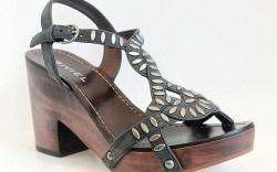 Biviel platform sandal