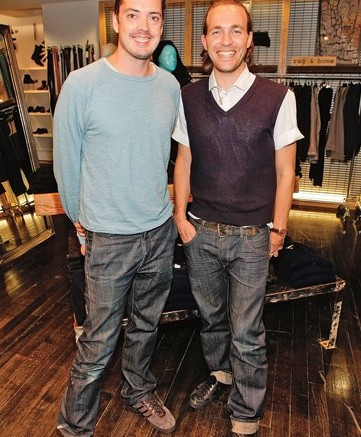 Rag & Bone founders Marcus Wainwright and David Neville
