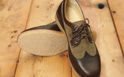 A men&#8217s wingtip with crepe sole from Rag & Bone