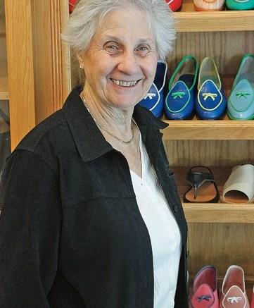 Belgian Shoes manager Margaret Cardon