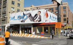 An Aldo billboard