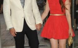 Brian Atwood and Kate Mara