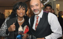 Christian Louboutin with Patti LaBelle in New York