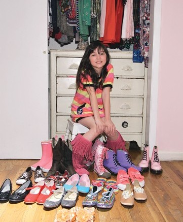 PR maven Kelly Cutrone&#8217s daughter Ava has a style all her own