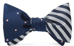 A design from The Social Primer for Brooks Brothers Bow Tie Collection