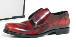 Calvin Klein Collection&#8217s laceless leather slip-on