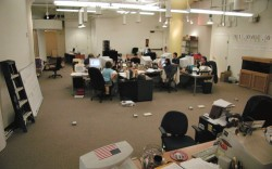 The team at Zappos during the companys infancy
