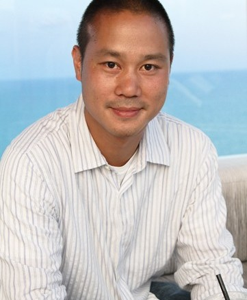 Zappos CEO and new author Tony Hsieh photographed at the Gansevoort Miami on May 7