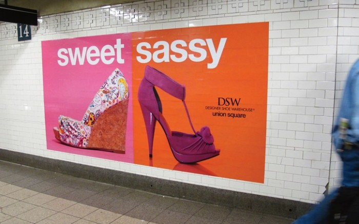 DSW&#8217s New York subway takeover