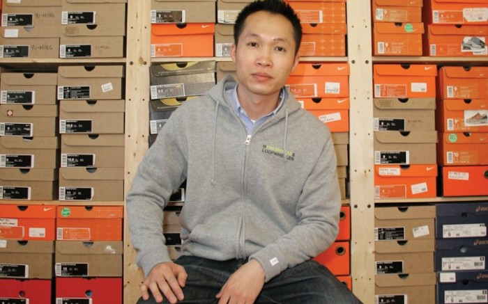 Yu-Ming Wu co-founder of FreshnessMagcom owns over 800 pairs of shoes