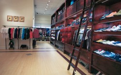The selection at Bodega features both footwear and apparel
