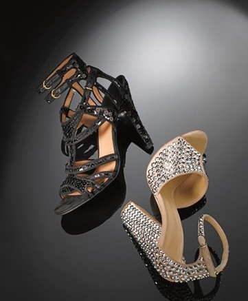 Evening styles from Giuseppe Zanotti and Laurence Dacade