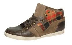 GUESS&#8217 mid-cut sneaker boot