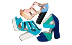 Spring styles of Asos-branded shoes