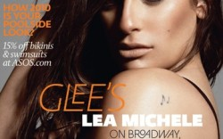 Lea Michele on the over of Asos&#8217 in-house magazine