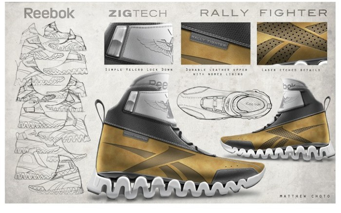 The winning design from Reebok&#8217s project with car  maker Local Motors